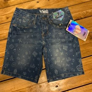 YMI Girl Bermuda shorts